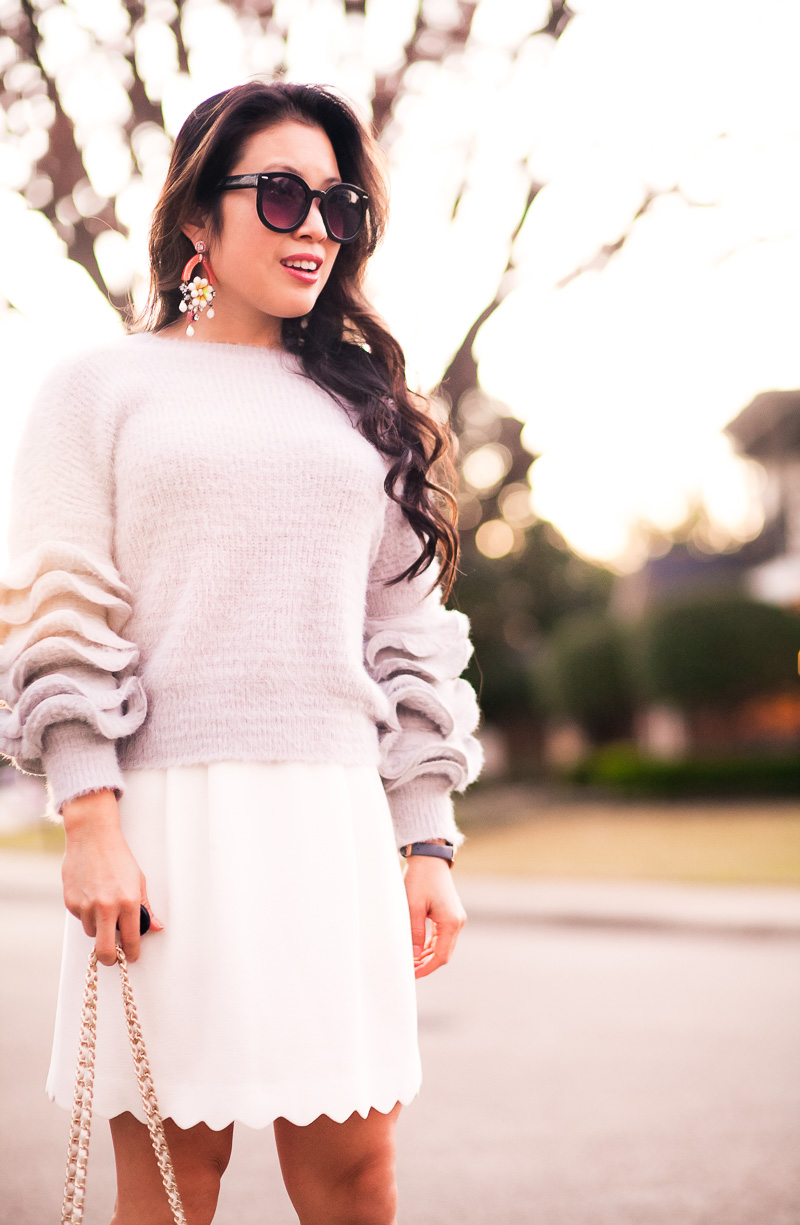 Petite Sweater: It's All About The Sleeve Details