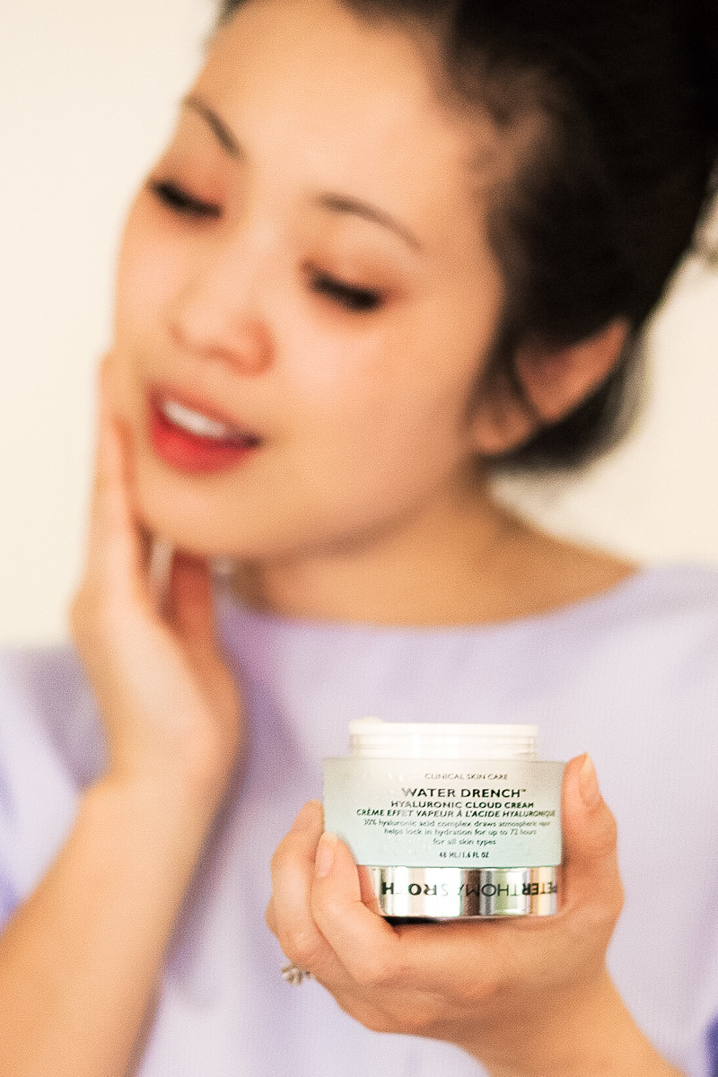Quenching Dehydrated Skin with Peter Thomas Roth Hyaluronic Acid Cream