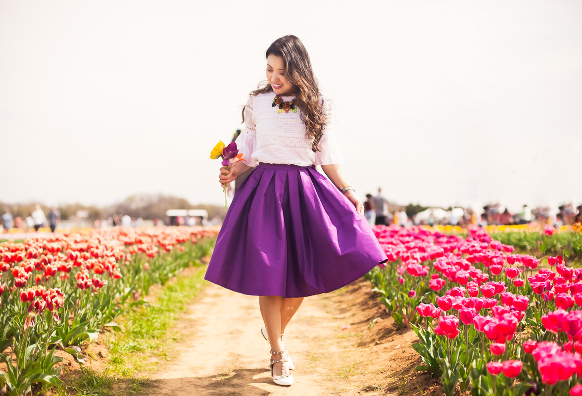 Spring Outfits and Tulip Fields by Kileen from Cute and Little
