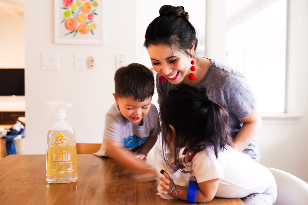 The Best Cleaning Products for Your Spring Cleaning Checklist with Lemi Shine by Dallas lifestyle blogger Kileen of cute & little