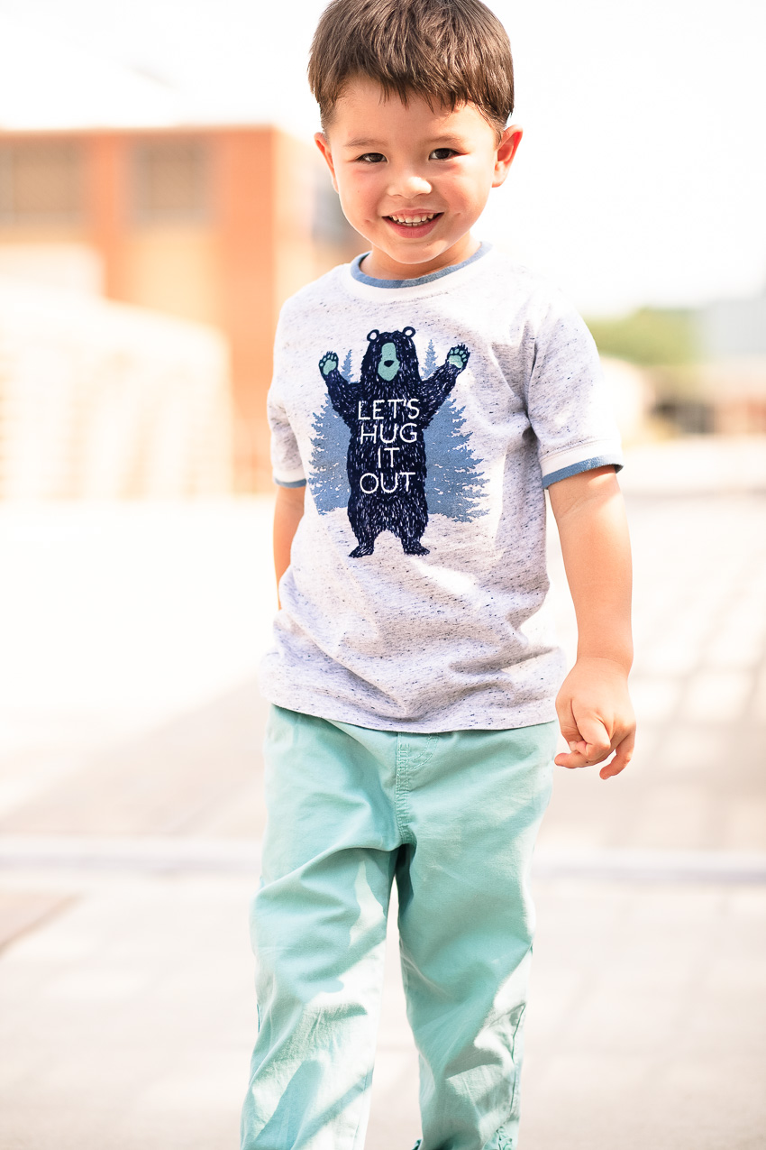 5 Tips For Preparing For Back To School by Dallas blogger cute and little | oshkosh #styleup4school