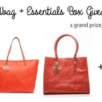 Giveaway: Emilie M. Handbag + Essentials Box