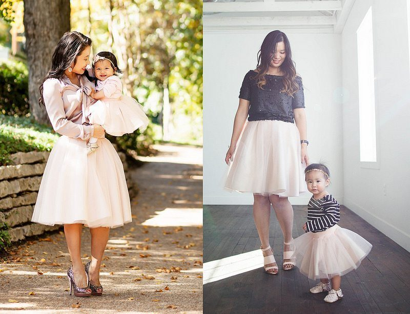 Blush Pink Tulle Mommy + Me // On Trend Tuesdays LinkUp