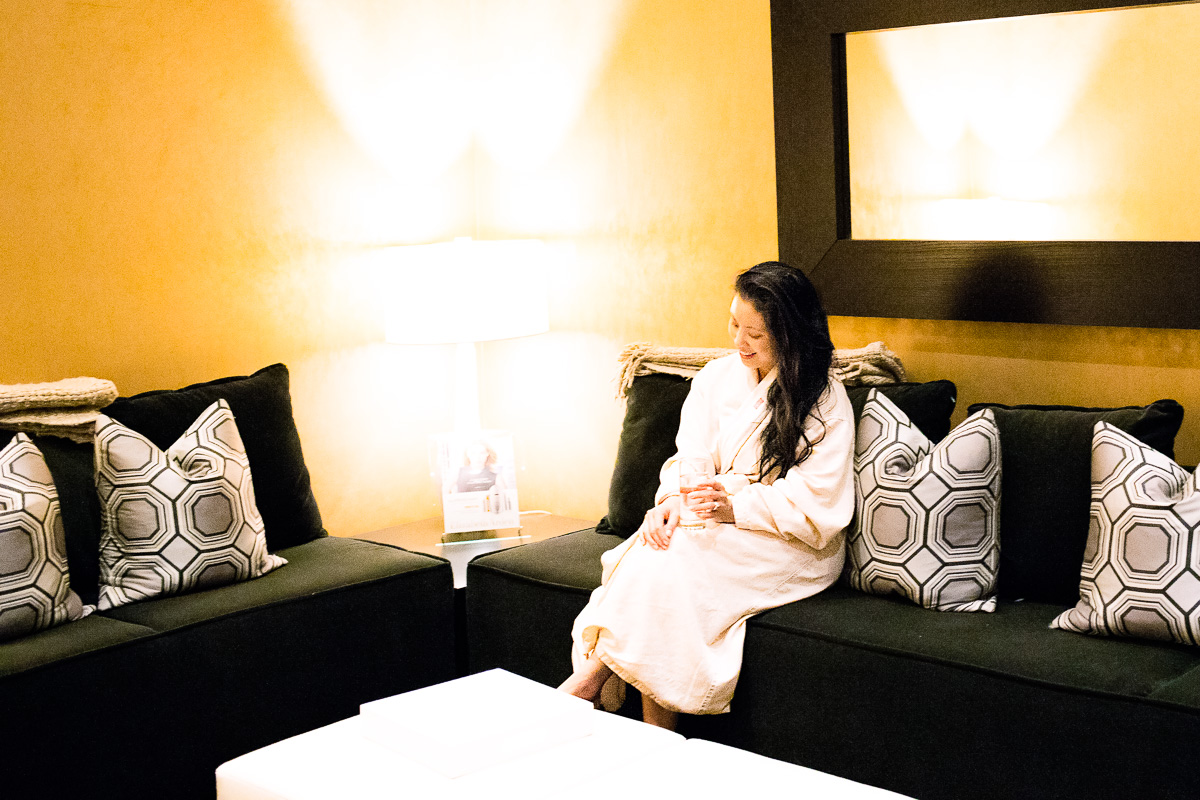 red door spa elizabeth arden relaxation lounge