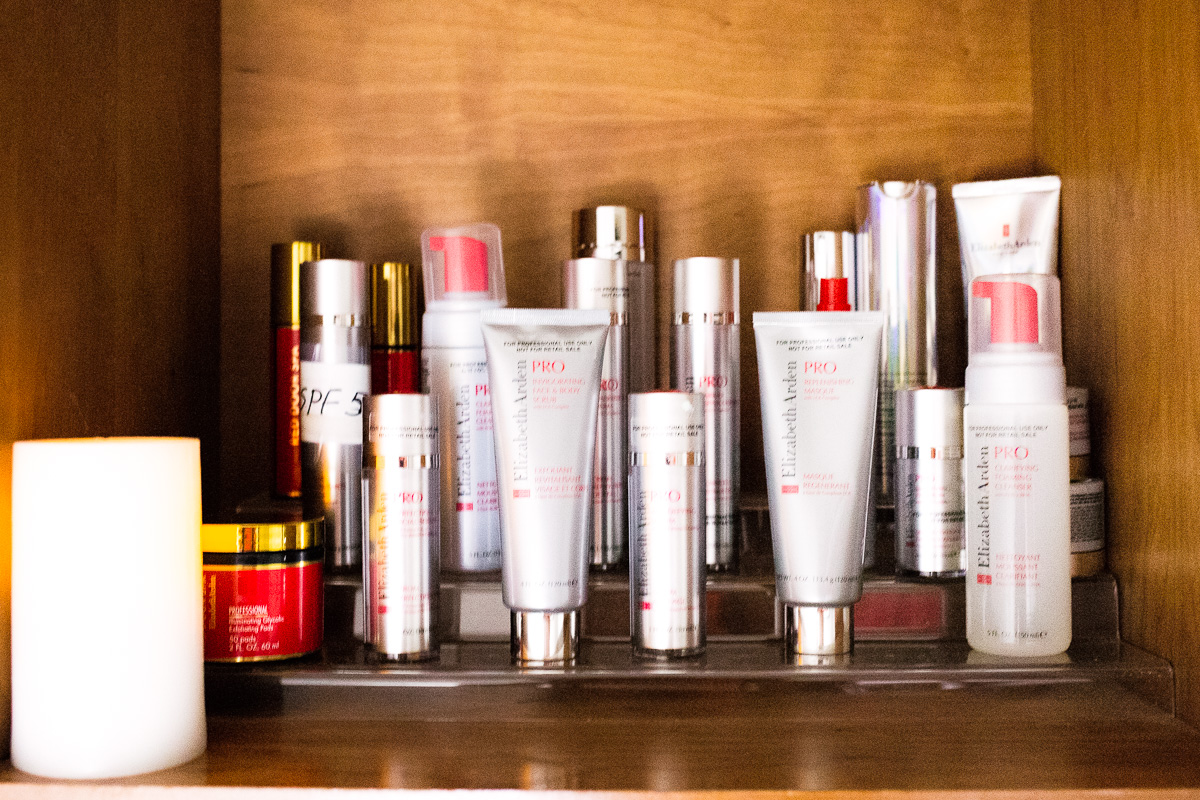 red door spa elizabeth arden pro renewal facial product lineup review