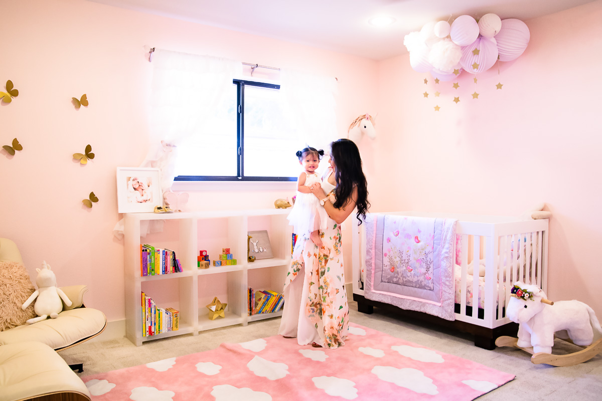 Butterfly Themed Baby Room