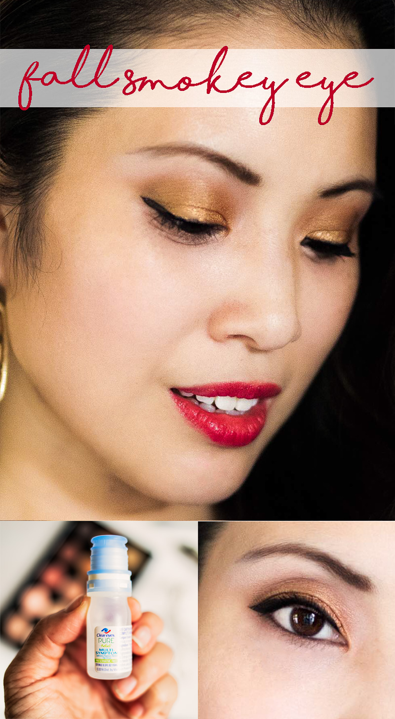 Smokey eye tutorial make up beauty cute and little the perfect smokey eye tutorial with clear bright eyes drops mypurerelief baditri Images
