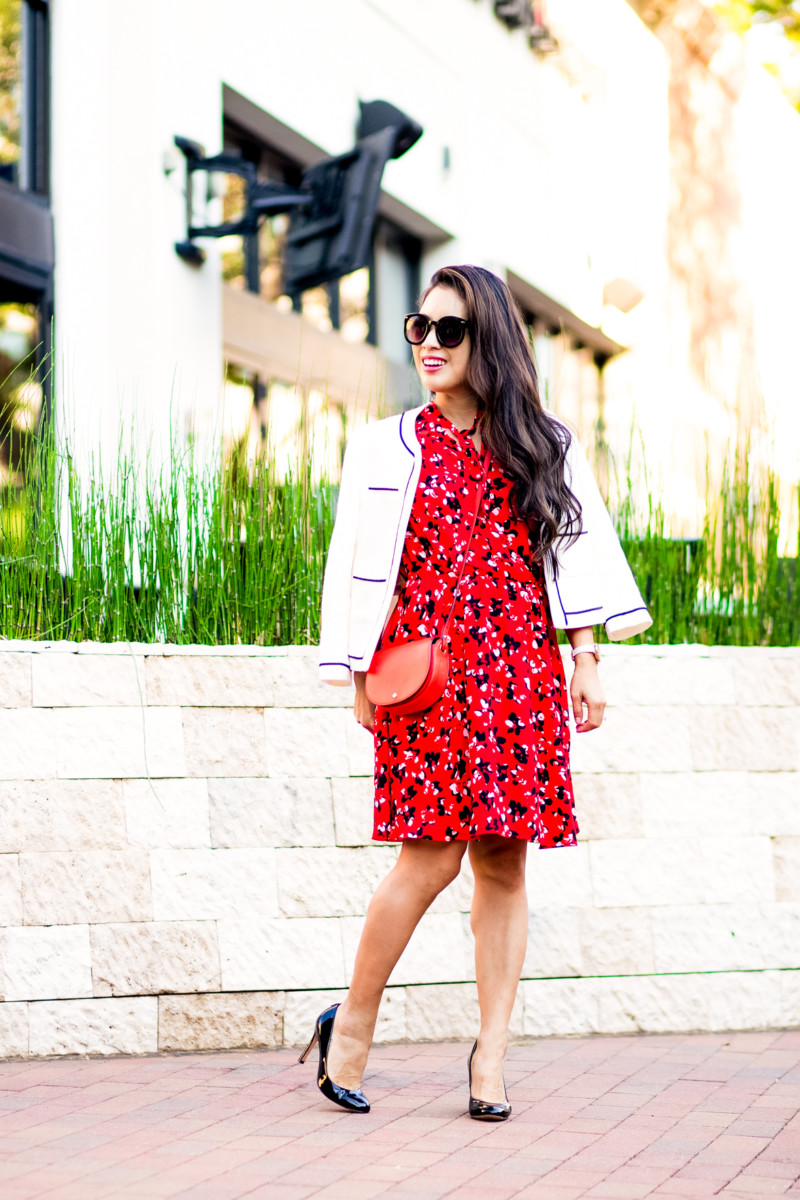 Transitioning a Summer Dress for Fall