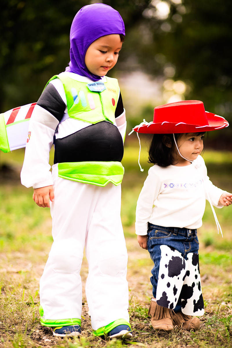 cute & little blog | buzz lightyear, jessie cowgirl, toy story halloween costumes