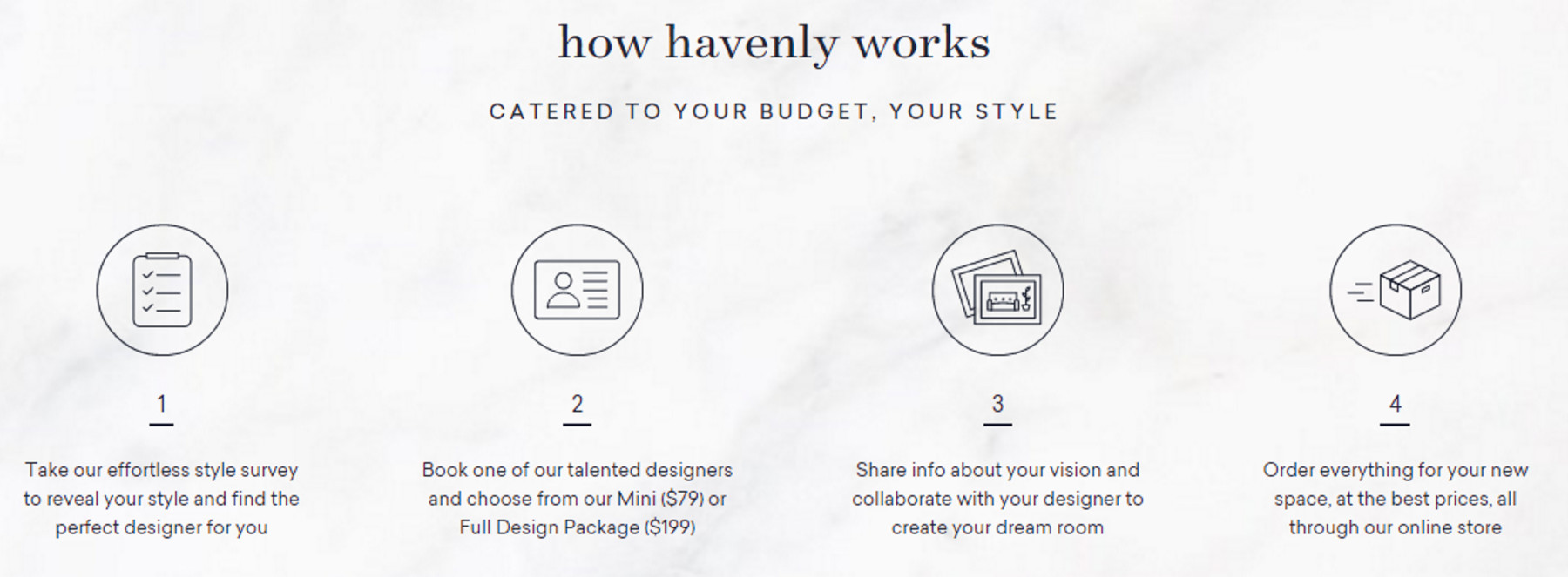 cute & little blog | havenly interior design services review
