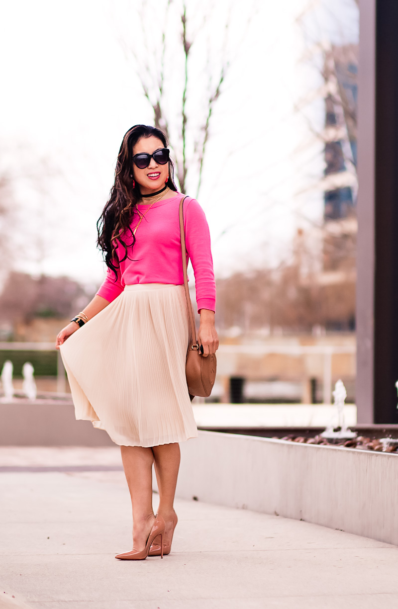 Pleated Skirts Are The New Pencil Skirt