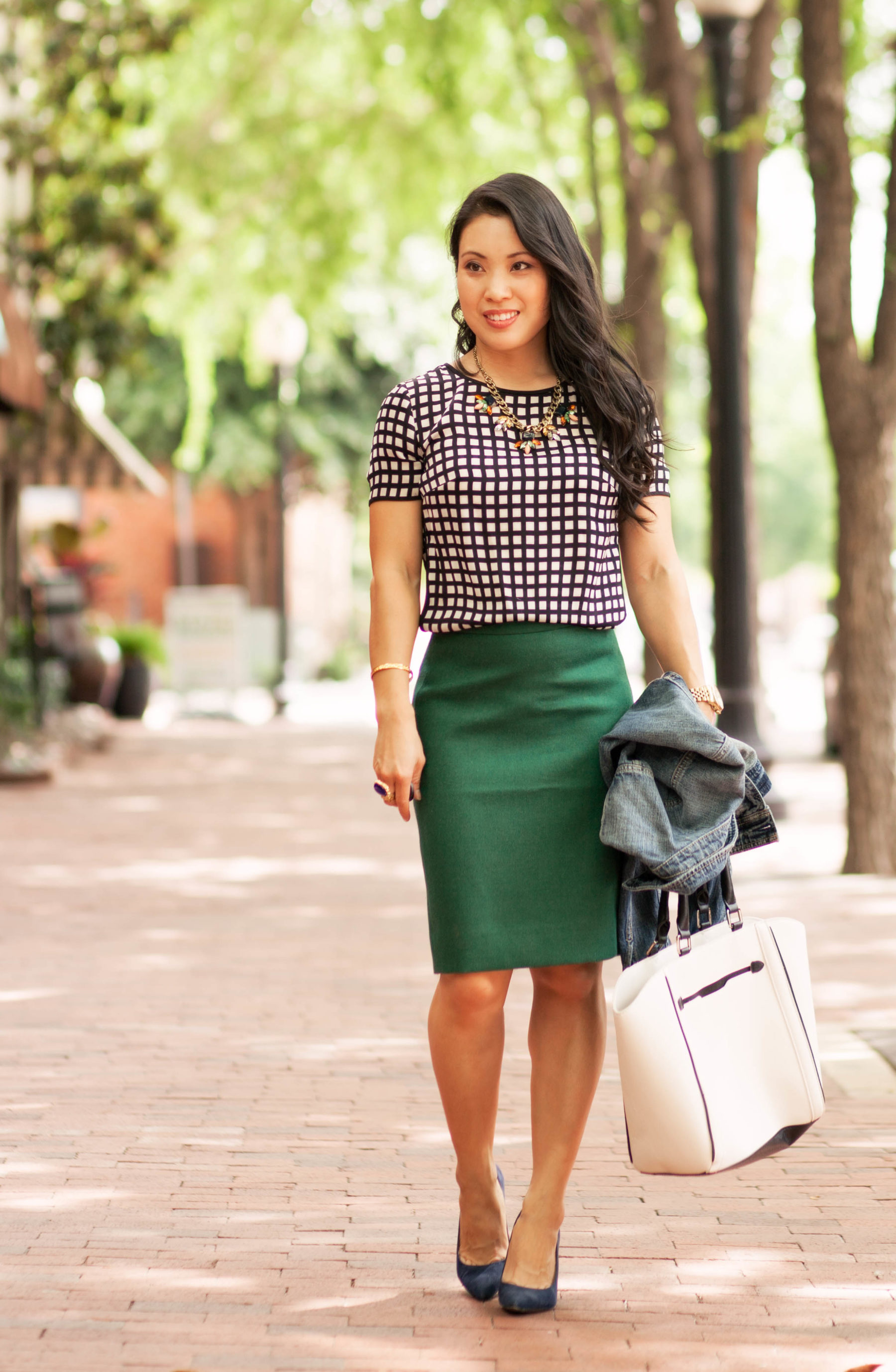4 St Patrick Day Outfits You Can Wear to Work by fashion blogger Kileen from cute and little