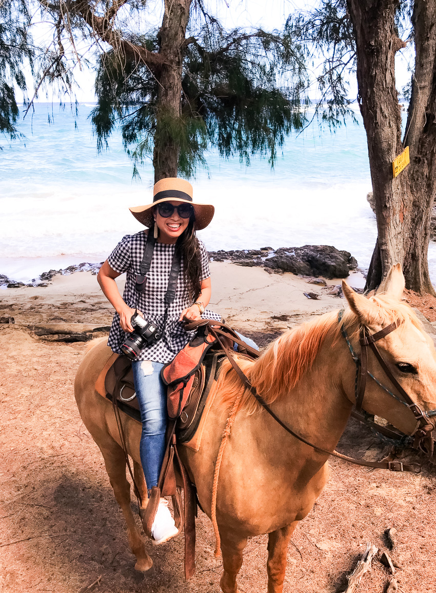 Kauai Traveling Tips: Horseback Riding with CJM Stables by Dallas blogger Kileen of cute & little