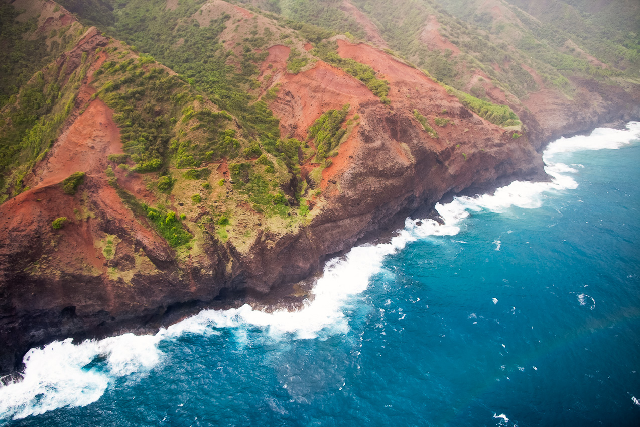 Kauai Helicopter Rides: Jurassic Falls Tour With Island Helicopters by Dallas blogger Kileen of cute and little