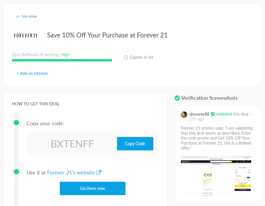 dealspotr review - Finding Forever 21 Promo Codes by Dallas fashion blogger cute and little