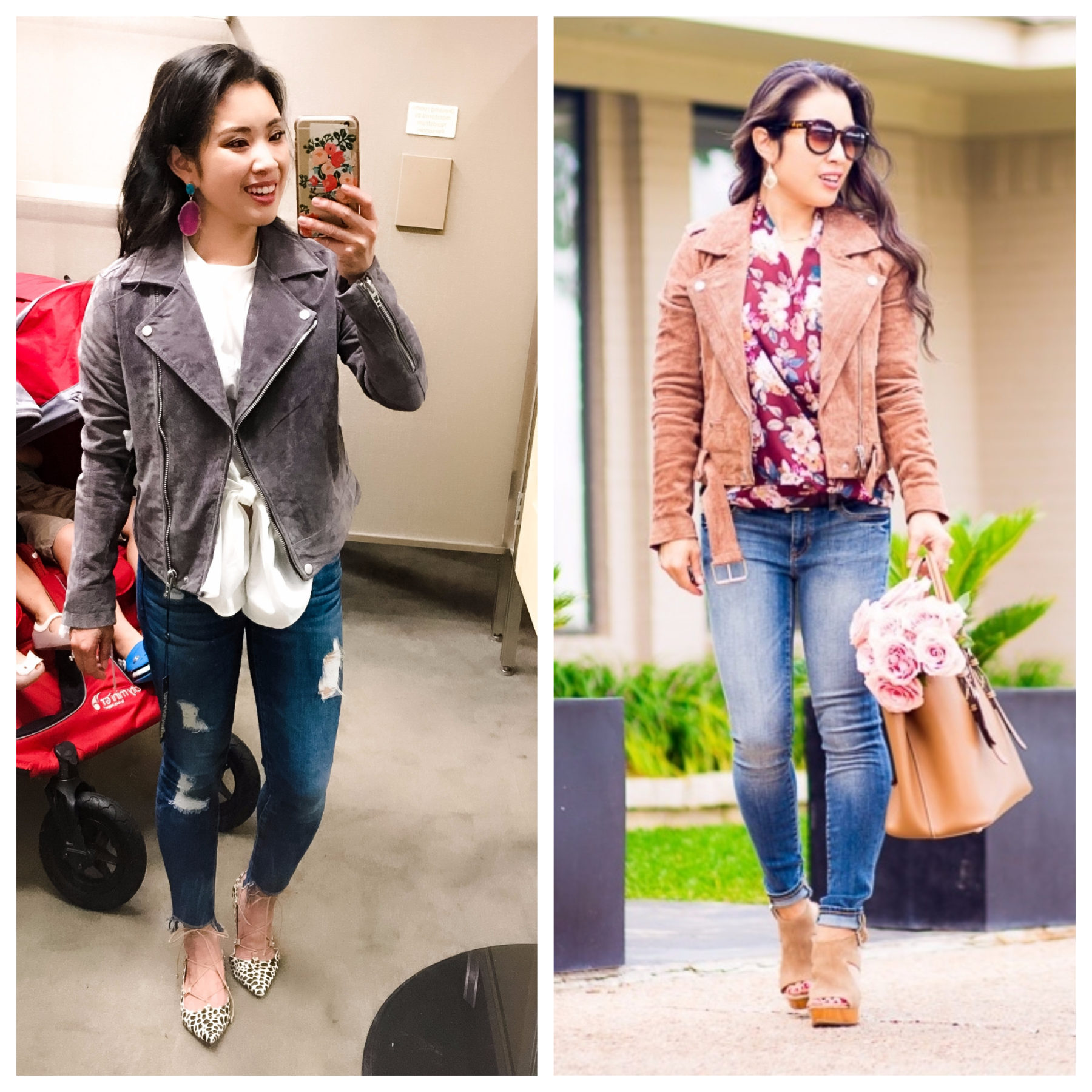 blanknyc moto jacket - Big Yearly Shopbop Sale: What I Own + Recommend by Dallas fashion blogger cute & little
