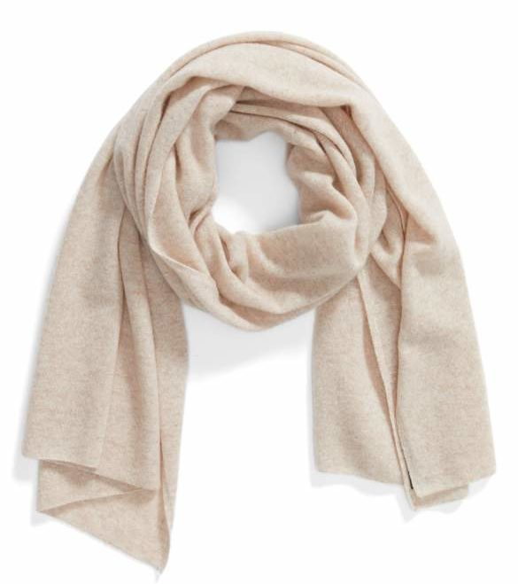 cashmere scarf - holiday gift guide for her by Dallas style blogger cute & little