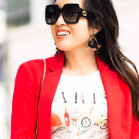 Why You Need a Red Boyfriend Blazer In Your Life