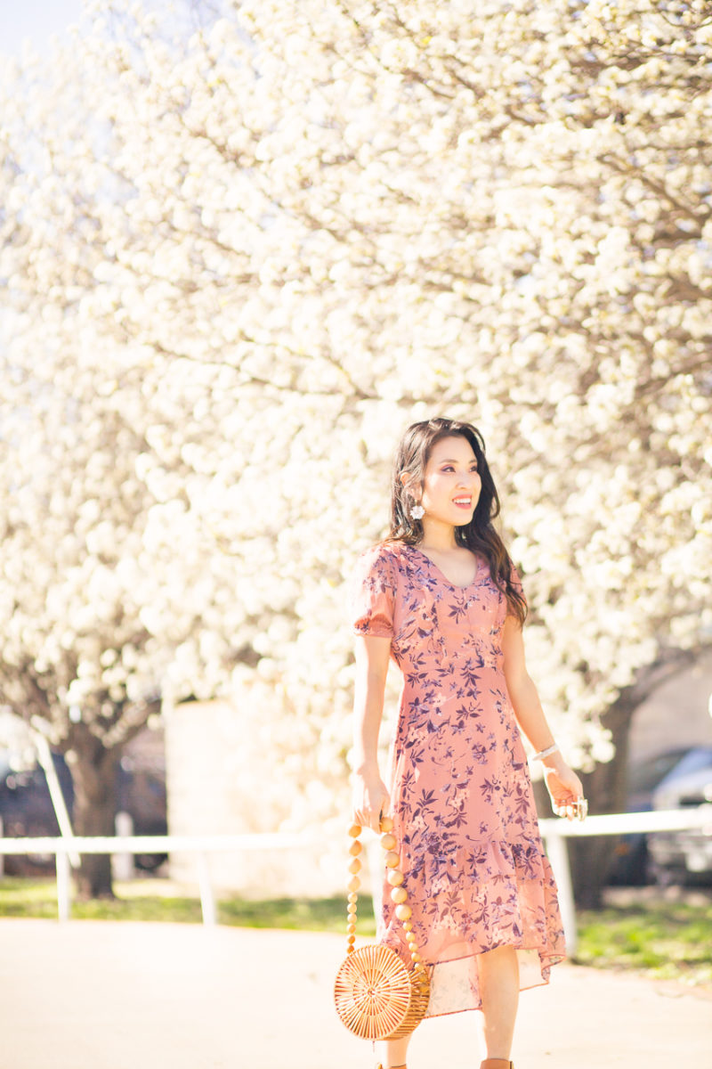 Ruffles and Florals For a Pretty Spring Look