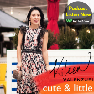 cute & little | get to know podcast interview - I'm On A Podcast! Get To Know Me by popular Dallas petite fashion blogger, cute & ilttle