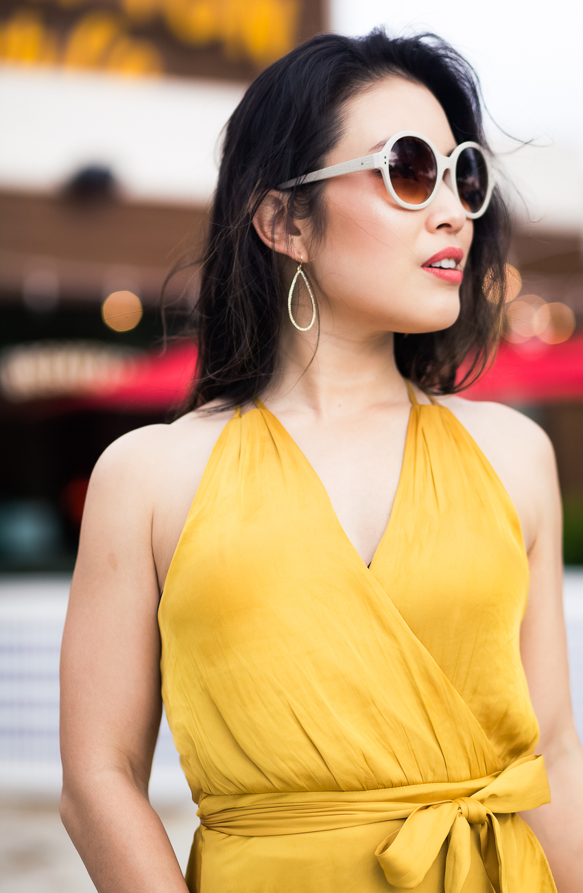 cute & little | how to wear statement earrings | baublebar marissa hoop earrings - 5 Tried-and-True Tips On How To Pair Statement Earrings by popular Dallas fashion blogger, Cute & Little
