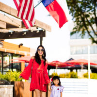 A Mommy and Me 4th of July Outfit