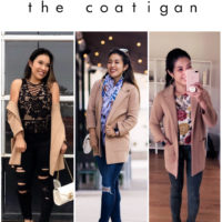 Your New Favorite Third Piece:  The Coatigan