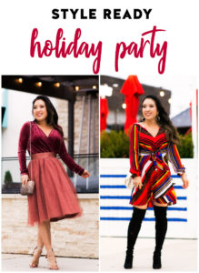 cute & little | dallas petite fashion blog | holiday party dress outfit