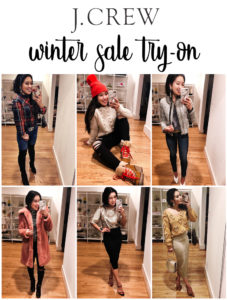 cute & little | dallas petite fashion blog | j.crew winter sale try-on