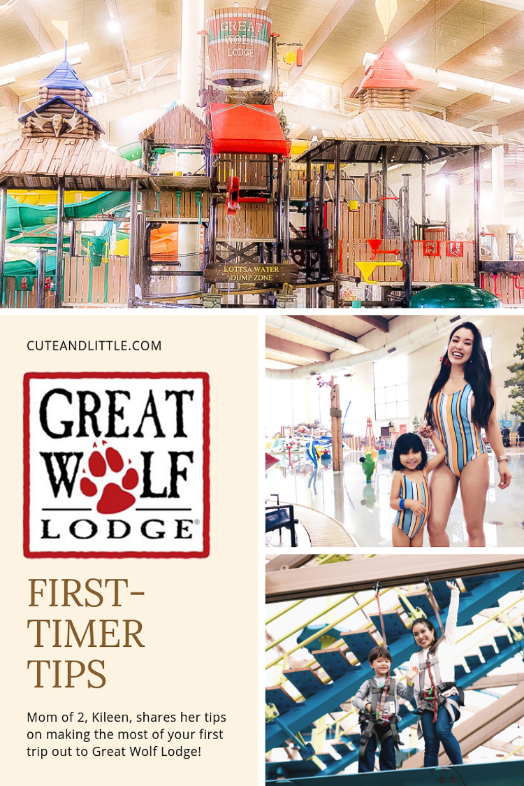 cute & little | dallas mom family lifestyle blog | great wolf lodge grapevine review weekend staycation tips | Great Wolf Lodge Grapevine Review featured by top Dallas blogger, Cute & Little; Image of family at Great Wolf Lodge