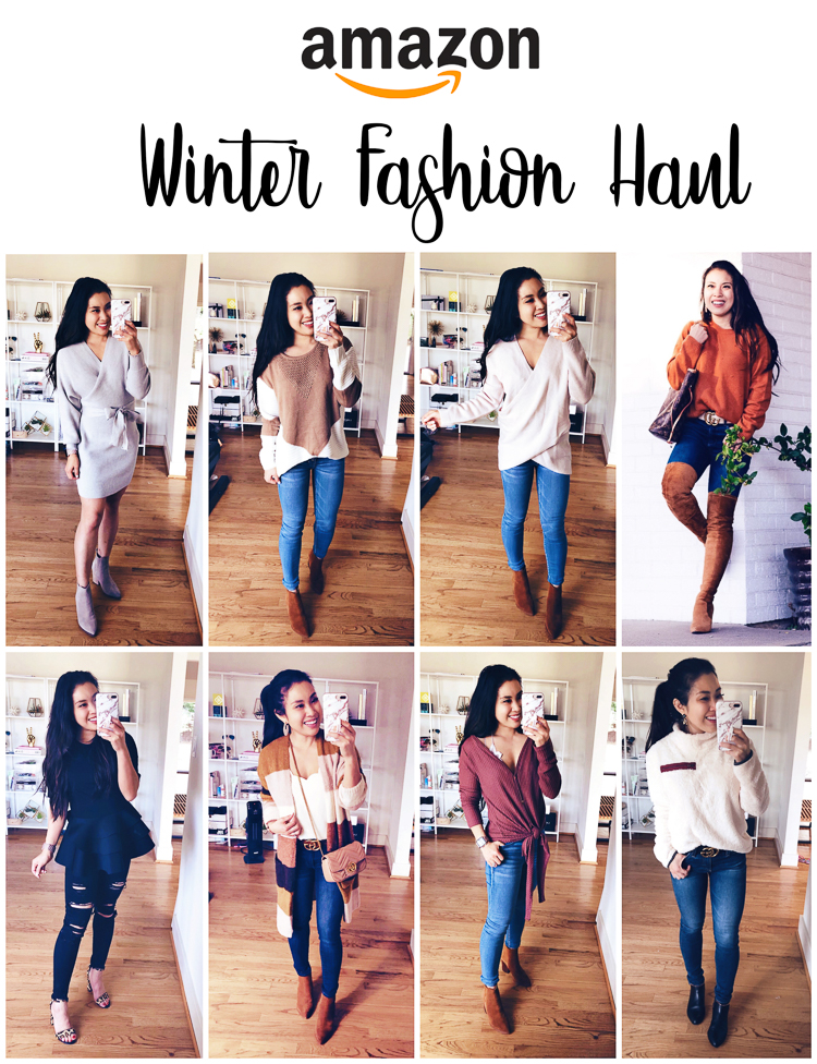 Amazon Winter Fashion featured by top US petite fashion blog Cute & Little