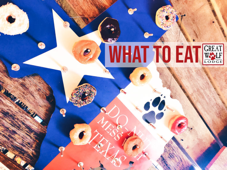 cute & little | dallas mom family lifestyle blog | great wolf lodge grapevine review weekend staycation tips | restaurants food dining | what to eat | Great Wolf Lodge Grapevine Review featured by top Dallas blogger, Cute & Little
