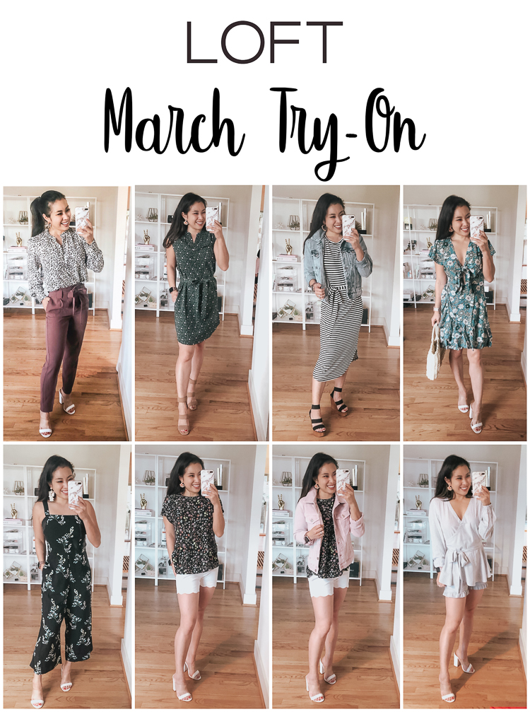 cute & little | dallas petite fashion blog | loft march haul try-on review | LOFT favorites: March Try On featured by top US petite fashion blog, Cute & Little;