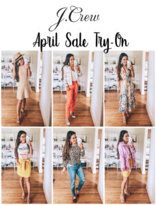 cute & little | dallas popular petite fashion blog | j.crew spring april sale try-on haul