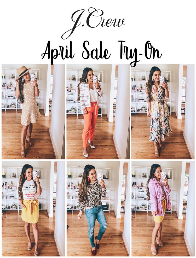 J.Crew April Sale Try-On