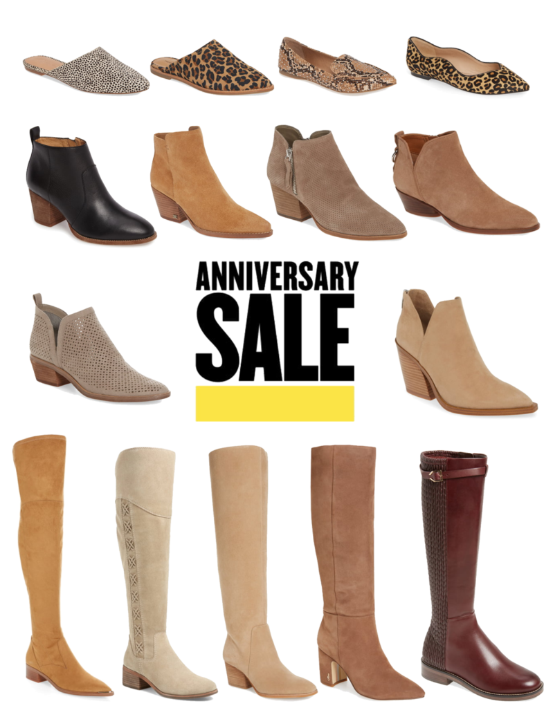 cute & little | dallas popular petite fashion blog | nordstrom anniversary sale 2019 top must-have shoes | Nordstrom Anniversary Sale 2019: Must-Have Picks collage image of shoes from the 2019 Nordstrom Anniversary Sale.