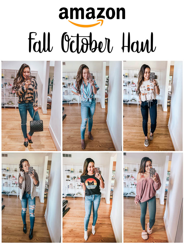 October Amazon Fashion Haul: Casual / Loungewear Outfits
