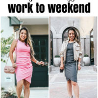 How to Wear a Bodycon Dress: Work To Weekend