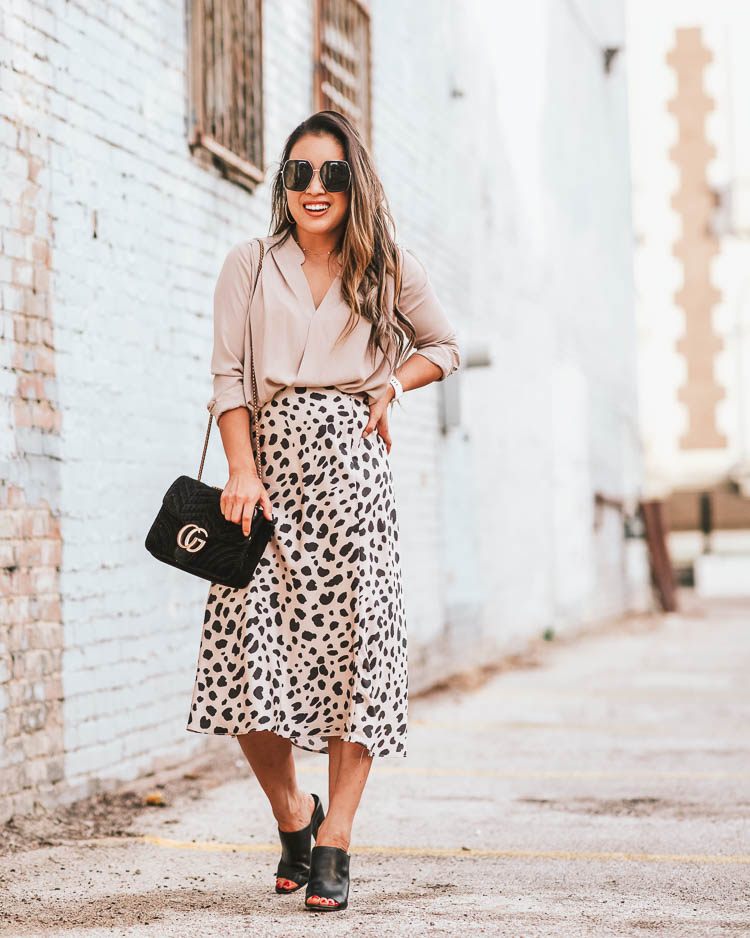 Best Leopard Print Midi Skirts Under $50