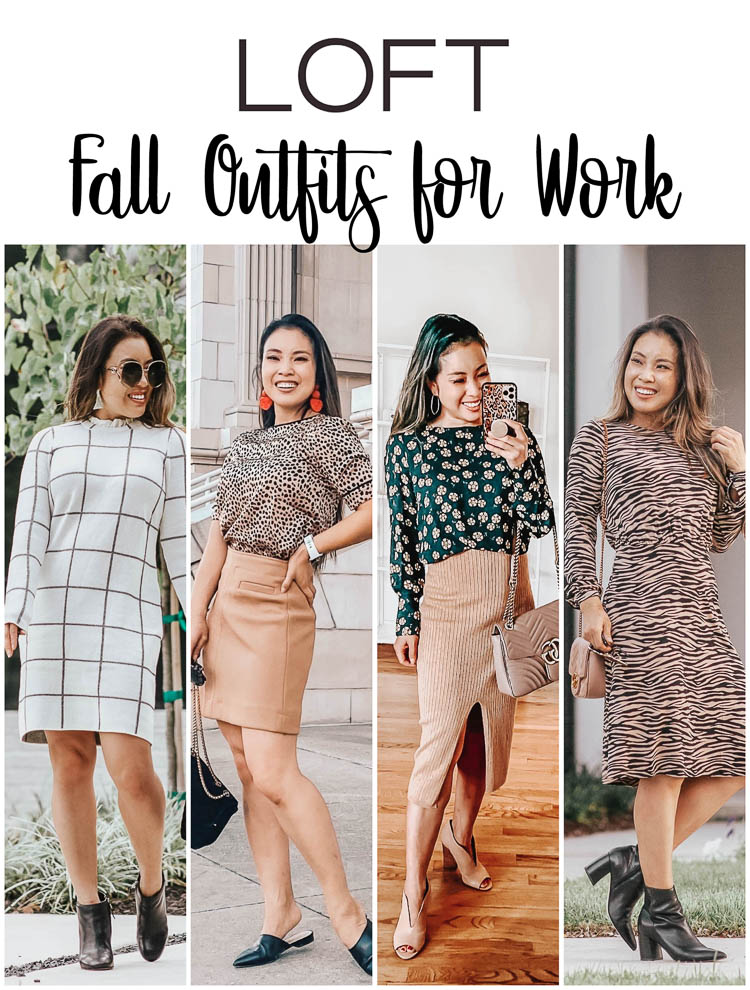 cute & little | popular dallas fashion blog | loft fall outfits for work office