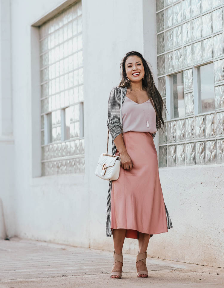 Trend To Try: Silk Slip Skirt Midi