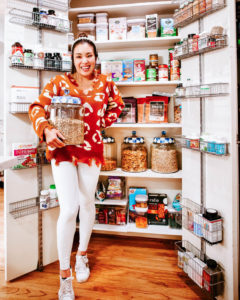 cute & little | dallas lifestyle blog | small pantry organization ideas tips