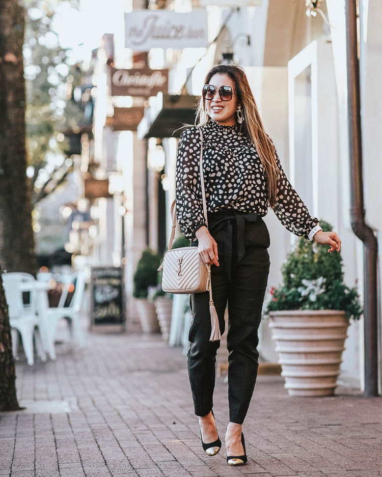 How-To Wear Leopard Print To The Office