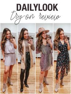cute & little | dallas petite fashion blog | dailylook try-on review