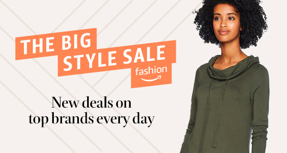 cute & little blog | dallas petite fashion blog | amazon the big style sale |  Amazon Big Style Sale 2020 by popular Dallas petite fashion blog, Cute and Little: image of Amazon Big Style Sale digital ad.