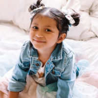 Messy Pigtail Buns: An Easy Toddler Girl Hairstyle For School