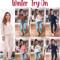 LOFT Winter Loungewear Try-On