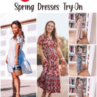 Target Spring Dresses Try-On